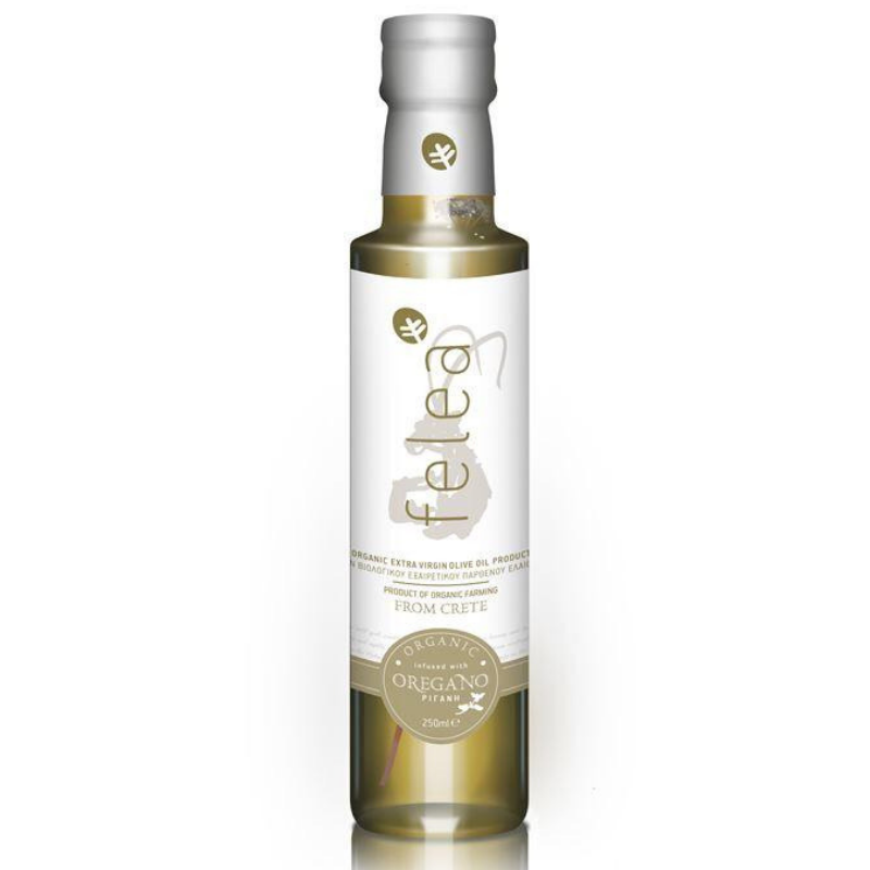 Feleagoods Organic Olive Oil With Oregano 250 ml