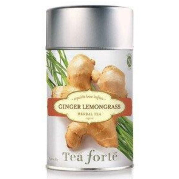 Ginger lemongrass Loose Leaf Organic Tea Canister