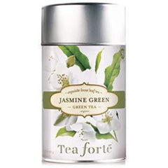 Jasmine Green Loose Leaf Organic Tea Canister