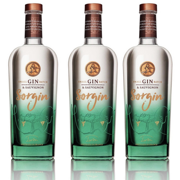 3X Sorgin Gin Bordeaux, France 🇫🇷