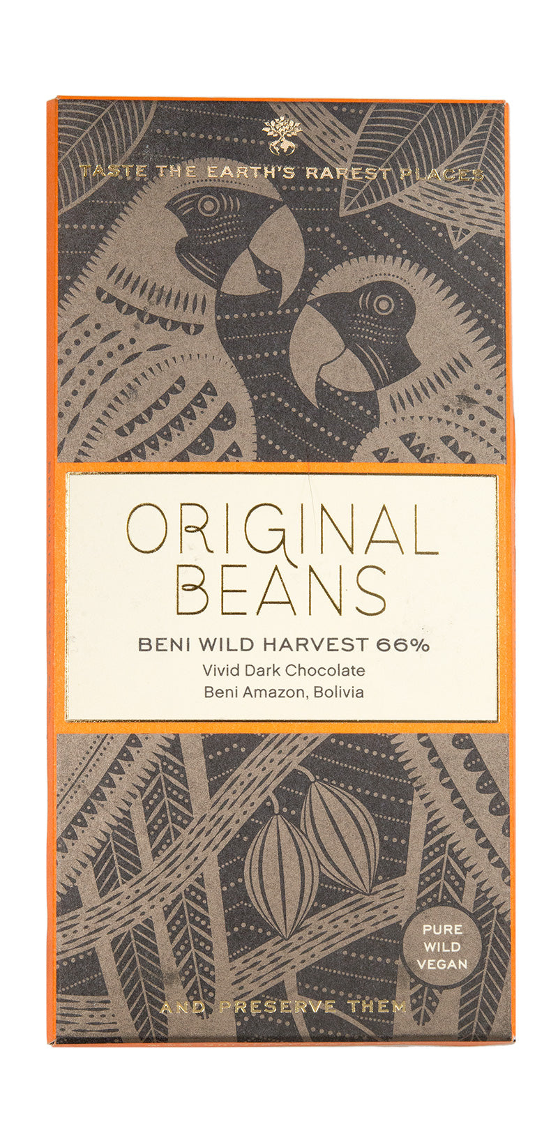 Beni Wild Harvest Bar (66%) 70 gr .