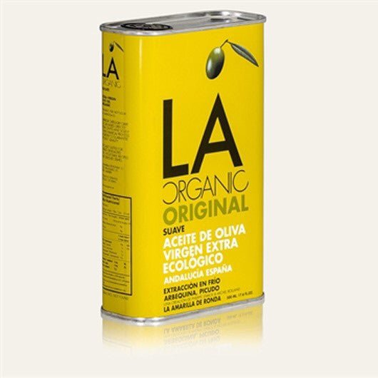 LA Organic Delicate Extra Virgin Olive Oil 500 ml