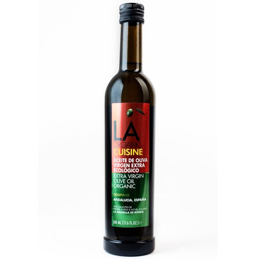 LA Organic Cuisine  Extra Virgin Olive Oil 500 ml