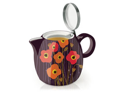 PUGG TEAPOT & INFUSER POPPY FIELDS