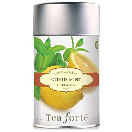 Citrus Mint Loose Leaf Organic Tea Canister