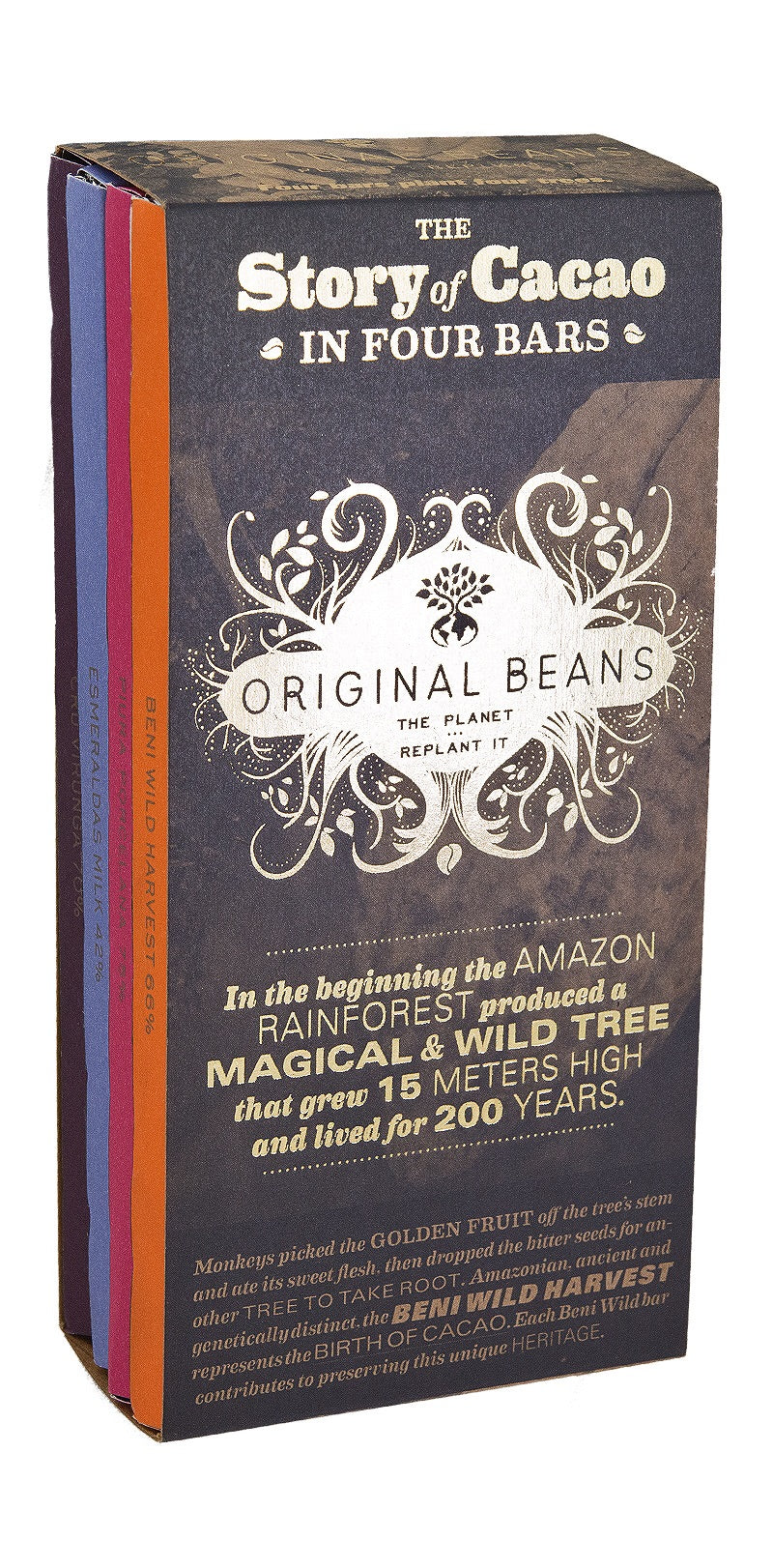 Story Of Cacao 4 Original Bars 280 gr.