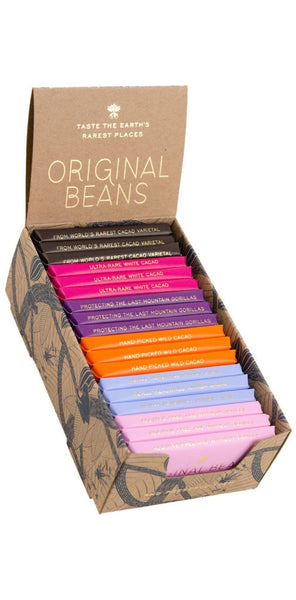Original Beans Mixed  Minibars Four Varieties 216 gr
