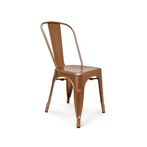 Solid Copper Finish Tolix Chair
