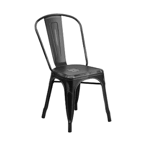 Worn Black Tolix Chair