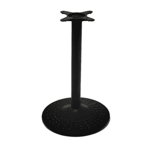Black Hobnail Round Table Base 24