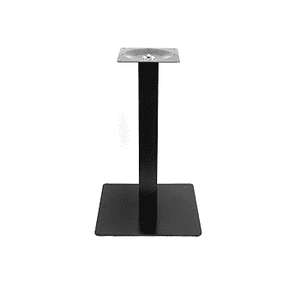 Black Modern Square Table Base