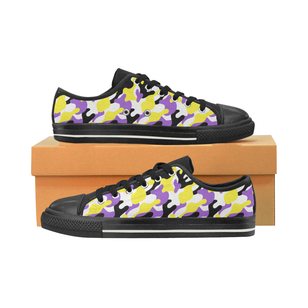 Low Tops  - Non-Binary Camouflage