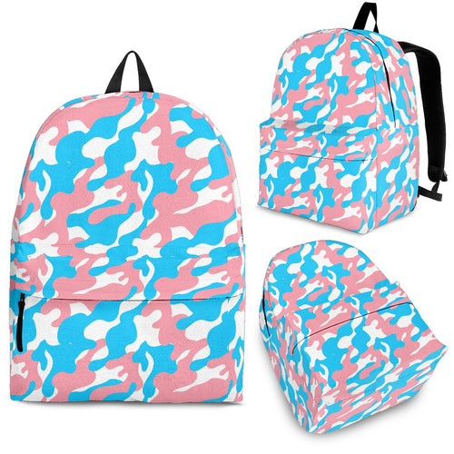 Backpack - Transgender Camouflage