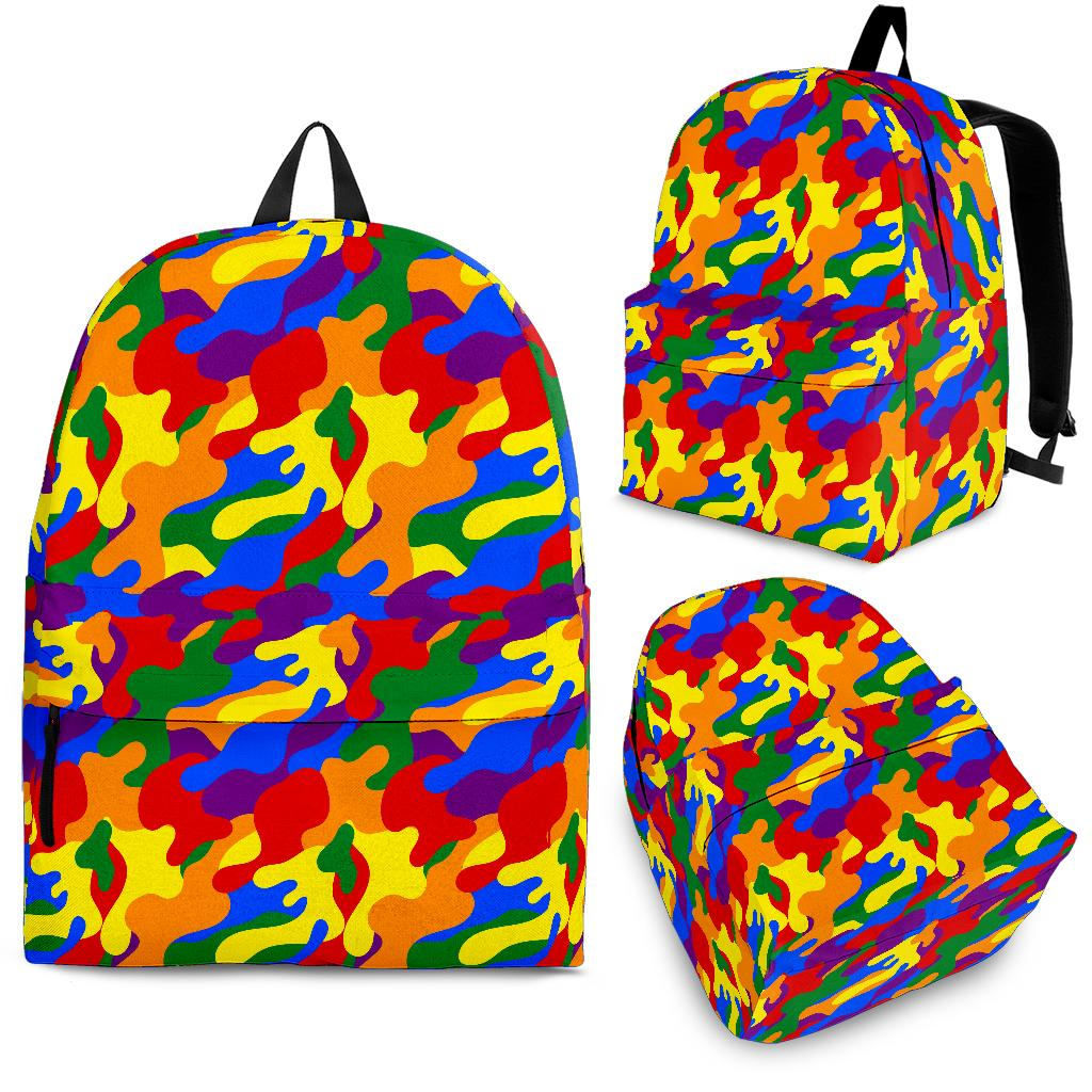 Backpack - LGBT Camouflage
