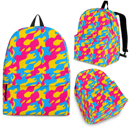 Backpack - Pansexual Camouflage