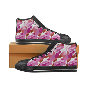 High-Top Sneakers - Lesbian Camouflage