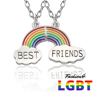 Necklaces For Best Friends - Rainbow