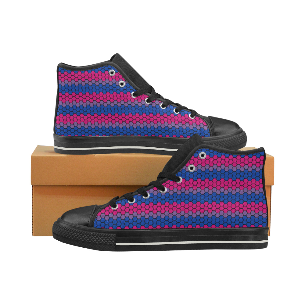 High Tops - Bisexual Honeycomb