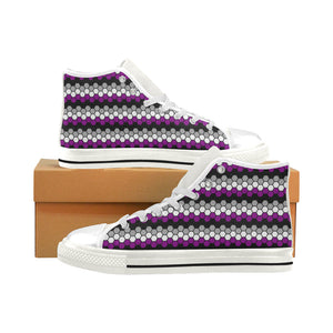 High-Top Sneakers - Ace Honeycomb