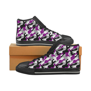 High-Top Sneakers - Ace Camouflage