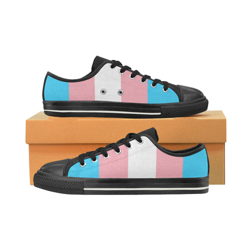 Low Tops  - Transgender Flag Vertical