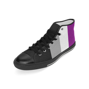 High-Top Sneakers - Ace Flag Vertical