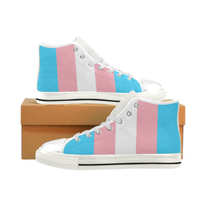 High Tops - Transgender Flag Vertical