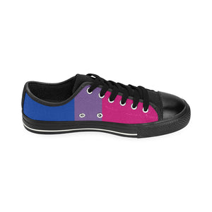 Sneakers - Bisexual Flag Vertical