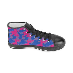 High Tops - Bisexual Camouflage