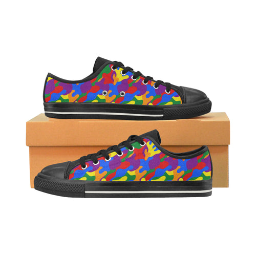 Low Tops  - LGBT Camouflage