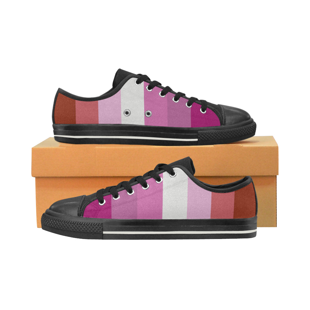 Low Tops  - Lesbian Flag Vertical