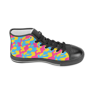 High Tops - Pansexual Camouflage