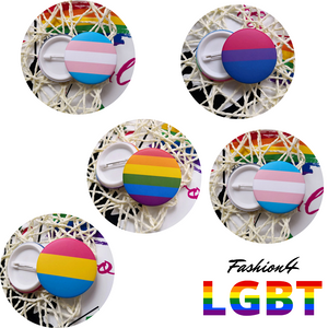 Pride Pins - 18 Flags