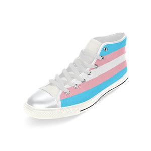 High Tops - Transgender Flag Horizontal