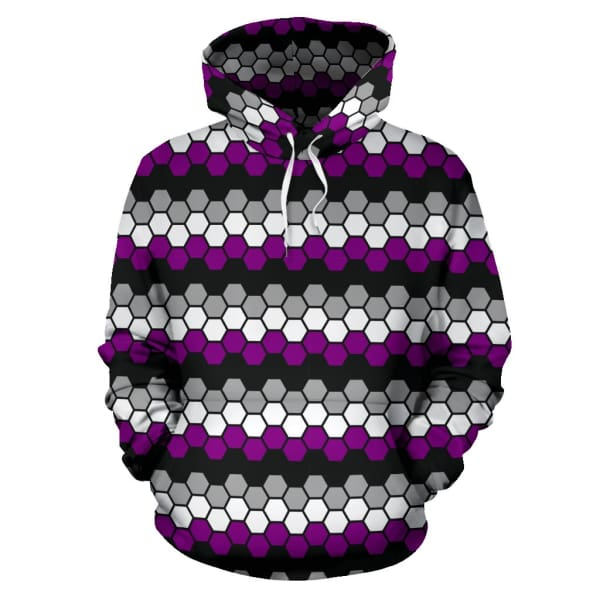 All Over Hoodie - Ace Honeycomb