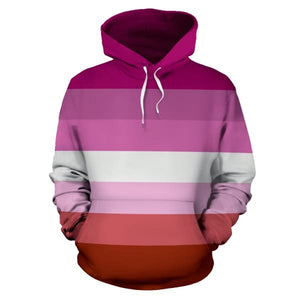 All Over Hoodie - Lesbian