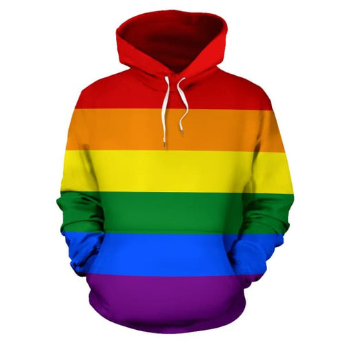 All Over Hoodie - Lgbt