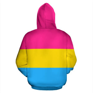 All Over Hoodie - Pansexual