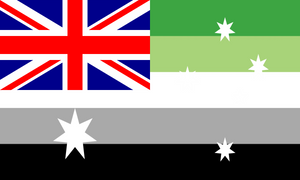 Flag Aromantic Australia