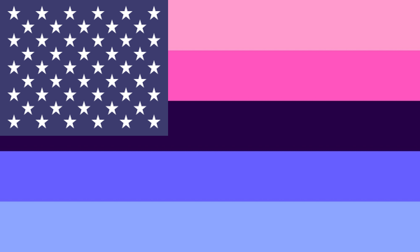 Flag Omnisexual Usa