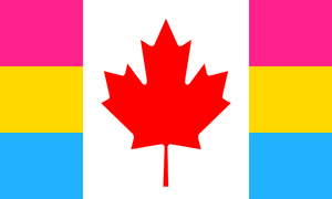 Flag Pansexual Canada