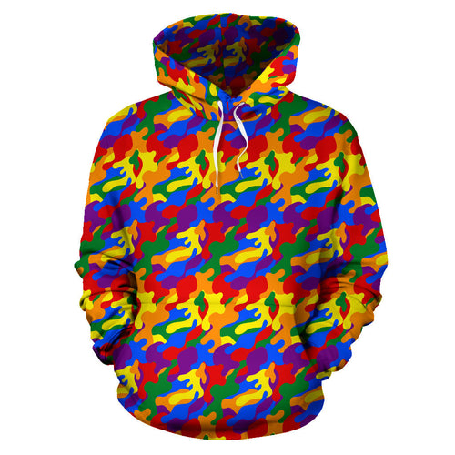All Over Hoodie - LGBT Camouflage