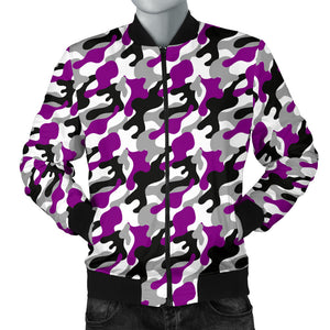 Men's Bomber Jacket - Ace Camouflage
