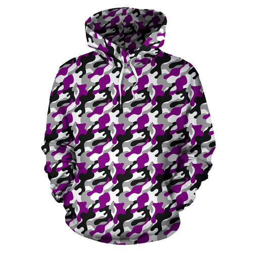 All Over Hoodie - Ace Camouflage