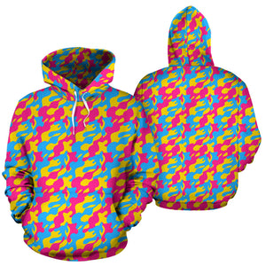 All Over Hoodie - Pansexual Camouflage
