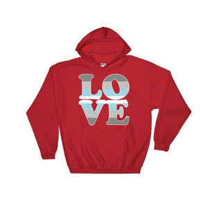 Hooded Sweatshirt - Demiboy Love Red / S