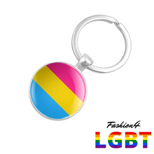 Keychain Double-Sided - 18 Flags Pansexual