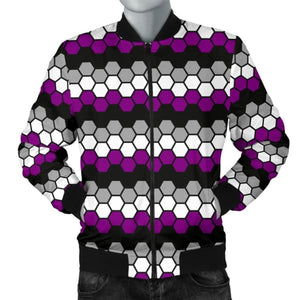 Mens Bomber Jacket - Ace Honeycomb