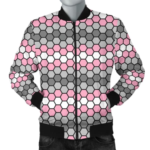 Mens Bomber Jacket - Demigirl Honeycomb