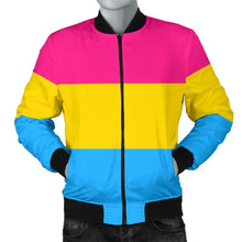 Mens Bomber Jacket - Pansexual